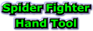 Spider Fighter Hand Tool Logo - www.TheSpiderFighter.com